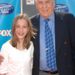 ストック写真: Garry Marshall and his granddaughter