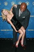 Kristin Chenoweth and Chi McBride — Stock Photo