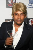 Hill Harper at Heidi Klum's 8th Annual Halloween Party. The Green Door, Hollywood, CA. 10-31-07 — Stock Photo