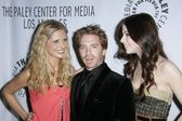 Sarah Michelle Gellar with Seth Green and Michelle Trachtenberg — Stock Photo