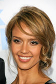 """Jessica Alba at the Los Angeles Premiere of """"Good Luck Chuck"""". Mann National Theater, Westwood, CA. 09-19-07 — Stock Photo"""