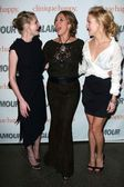 Kirsten Dunst with Rita Wilson and Kate Hudson — Zdjęcie stockowe