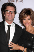 Harry Hamlin and Lisa Rinna — Stock Photo