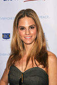 Kelly Kruger At the Live for Sderot Benefit Concert Launching Israels 60th Independence Celebration in the United States. The Wilshire Theater, Beverly Hills, CA. 02-26-08 — Stock Photo