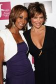 Holly Robinson Peete and Lisa Rinna at the Choose Your Cause Event. Fred Segal, Santa Monica, CA. 10-25-07 — Stock Photo