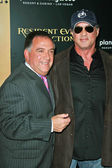 Robert Earl and Sylvester Stallone — Stock Photo
