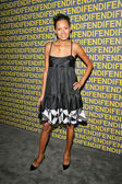 Keisha Whitaker at the Fendi Redesigned Rodeo Flagship Store Launch and Ten Baguettes For Ten Years Exhibition benefitting Lacma, Fendi, Beverly Hills, CA 02-13-08 — Stock Photo