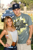 Adrienne Bailon and Robert Kardashian Jr. at A Time For Heroes Celebrity Carnival benefitting the Elizabeth Glaser Pediatric AIDS Foundation. Wadsworth Theater, Los Angeles, CA. 06-08-08 — Stock Photo