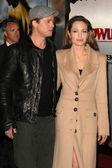 Brad Pitt, Angelina Jolie — Stock Photo