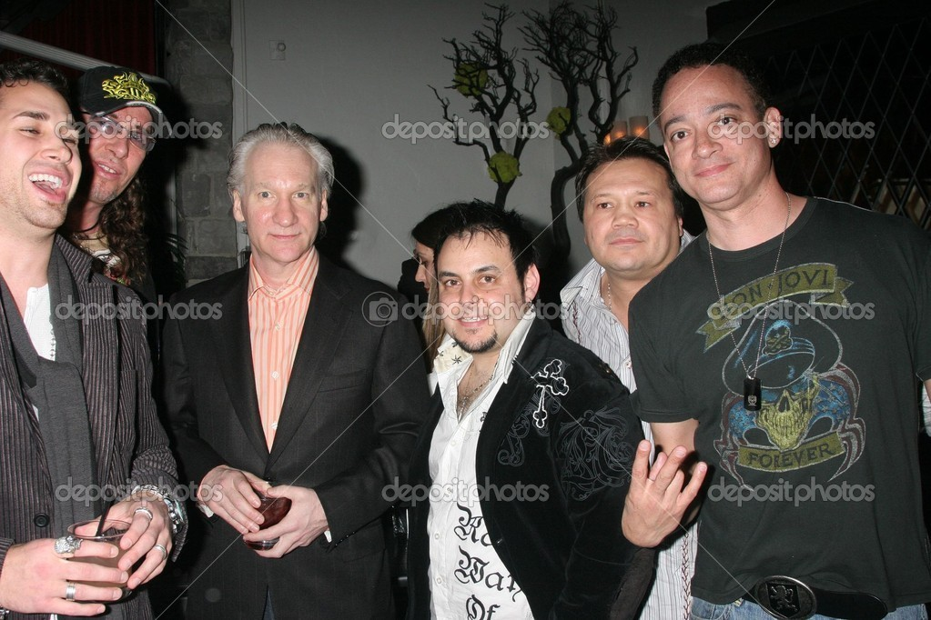Christopher Reid and bill maher