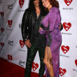 Slash and wife Perla — Stock Photo #16012579