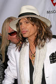 Robin Zander and Steven Tyler — Stock Photo