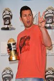 Adam Sandler at the 2008 MTV Movie Awards Press Room. Gibson Amphitheatre, Universal City, CA. 06-01-08 — Stock Photo