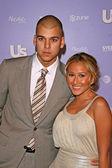Robert Kardashian Jr and Adrienne Bailon — 图库照片