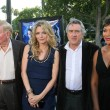 Постер, плакат: Sumner Redstone and Michelle Pfeiffer with Robert De Niro and Grace Hightower