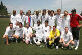 Soccer for Survivors Celebrity Showcase Match — Stock Photo