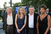Sumner Redstone and Michelle Pfeiffer with Robert De Niro and Grace Hightower — Stock Photo