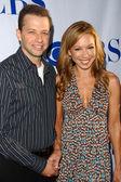 Jon Cryer and Lisa Joyner — Stock Photo