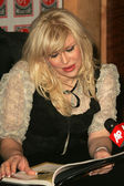 Courtney Love In Store Appearance — Stock Photo