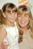 Terri Irwin and Bindi Irwin — Stock Photo