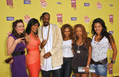 Snoop Dogg and the Flavor of Love Girls — Stock Photo