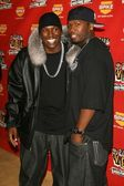 Tyrese e 50 cent — Foto Stock