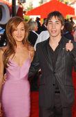 Maggie Q and Justin Long — Stockfoto