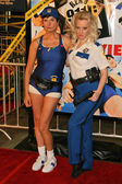 Kerry Kenney-Silver and Wendi McLendon-Covey at the premiere of Reno 911 Miami. Graumans Chinese Theatre, Hollywood, 02-15-07 — Stock Photo