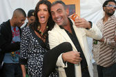 Janice Dickinson and Christian Audigier — Stock Photo