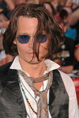 "Johnny Depp at the World Premiere of ""Pirates of the Caribbean: At World's End"". Disneyland, Anaheim, CA. 05-19-07 — Foto Stock"