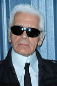 Karl Lagerfeld — Stock Photo