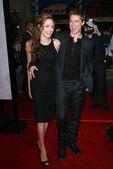 Angelina Jolie and Brad Pitt — Stock Photo