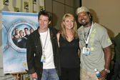 Ben Browder, Amanda Tapping, Christopher Judge — Стоковое фото
