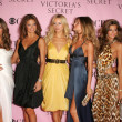 Stock Photo: AlessandrAmbrosio, AdrianLima, KarolinKurkova, Gisele Bundchen, Izabel Goulart and SelitEbanks arriving at Victorias Secret Fashion Show. Kodak Theatre, Hollywood, CA. 11-16-06