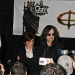 Постер, плакат: Sharon Osbourne and Ozzy Osbourne