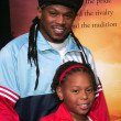 Stock Photo: Sway and his daughter Kayomi