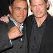 Vinnie Jones and Scott Wiper — Stock Photo