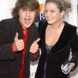 Devon Werkheiser and Lauren Storm - Stock Photo