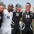 Постер, плакат: Steve Jones Jimmy Jean Louis Frank Leboeuf Vinnie Jones and Jason Statham