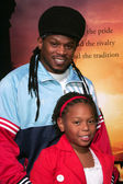 Sway and his daughter Kayomi — Stock Photo
