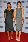 Rosario Dawson and Jessica Biel — Stock Photo
