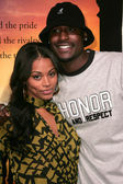 Lauren London and Jackie Long — Stock Photo