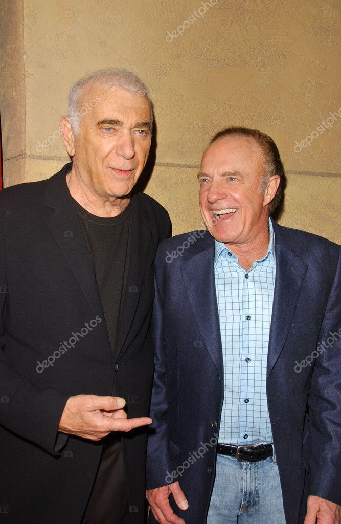 Albert S. Ruddy and James Caan at the BRANDO Los Angeles Premiere Screening and Cocktail Party, Egyptian Theater, Hollywood, CA 04-17-07 — Stock Photo #16072915