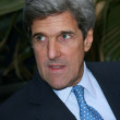 "John Kerry and Teresa Heinz Kerry Promote ""This Moment on Earth"" — ストック写真"