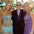 Stock Photo: AlanCurry with Hugh Hefner and Katie Lohmann at Playboy Mansion Easter Egg Hunt. Playboy Mansion, Los Angeles, CA. 04-07-07