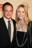 Lauralee Bell and husband Scott Martin — Stock Photo