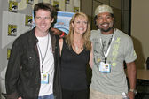 Ben Browder, Amanda Tapping, Christopher Judge — 图库照片