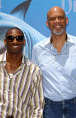 Kobe Bryant and Kareem Abdul Jabbar — Photo