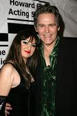 Vikki Lizzi and Jeff Conway — Stock Photo