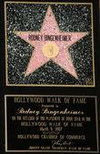 Rodney bingenheimer'ın plak yıldız — Stok fotoğraf
